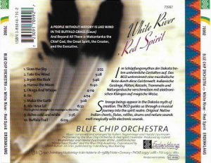 Blue Chip Orchestra White River Titel Cover Rück Bild