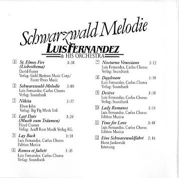 Cover Schwarzwald Melodie