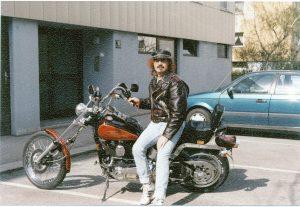 Foto Harry mit Harley